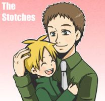 SP:Butters and Father by spidergarden666