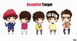 Beautiful Target - B1A4 by nday