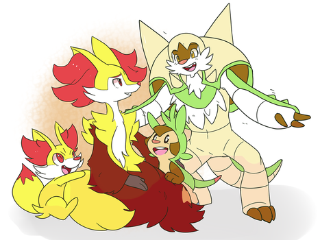 SpellbladeShipping Family by Ninplanet123