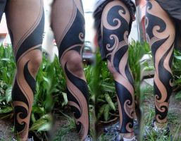 Tribal tattoo by PintordePeles