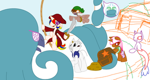 Never Steal a MerMare's Treasure WIP Part 3 by ArtisticPages