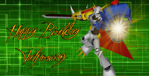 Happy b-day Valforwing by KingdomHeartsNickey
