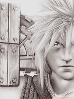 Cloud Strife by Asianhulk7