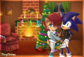SonXSal - Christmas Eve by Bound-For-Freedom