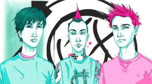 blink-182 by kiwifairy
