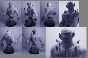 panthro 1.6 bust..... by zoko1