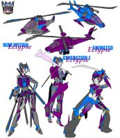 Decepticon fembot oc eclypse 3 by reeves83