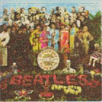 Beatles mosaic- sgt. pepper :] by Georgieharrisonlove