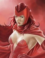 Scarlet Witch by jcfabul