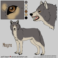 Mayra Reference by Jenny2-point-0