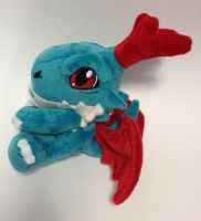 Digimon - Dracomon custom plush by Kitamon