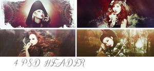 Pack PSD HEADER by XecutionerHebe