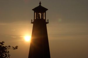 Sun power Lighthouse by troubledmind