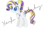 Crystal Empire Rarity by kaylathehedgehog