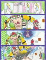 Mario's Pictures of Princess Peach by LycanthropeHeart