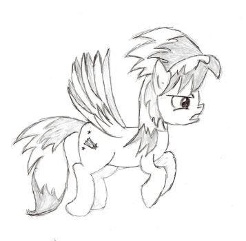 Cloud Chaser Sketch by Darelith