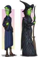 Elphaba Thropp by Expression
