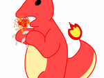 The ChibiDex - 005 Charmeleon by Firedakitteh