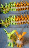 Jolteons (up for trade) by Rens-twin