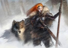 Daughter of the North by Anthony Devine by AnthonyDevine
