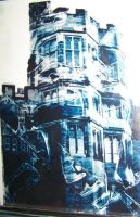 Distorted Castle by blackmariah27