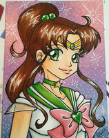 Sailor Jupiter ATC by JessLynne1227