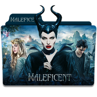 Maleficent 2014 Folder Icon by sonerbyzt