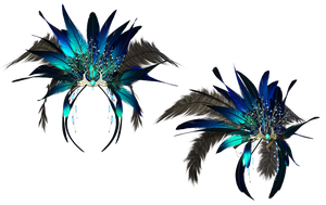 Headpiece 4 PNG Stock by Jumpfer-Stock
