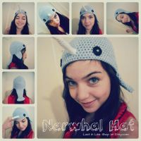 Narwhal Hat by the-carolyn-michelle