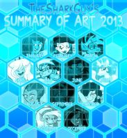 My Summary of Art 2013 by TheSharkMaster