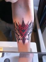 Kingdom Hearts Tattoo by Mareax