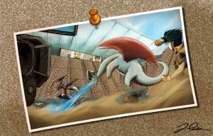 Salamence vs. Garchomp - The Final Battle by pokemon-master