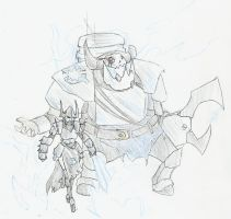 WH40k: Corsair and Freebooter by wightpower