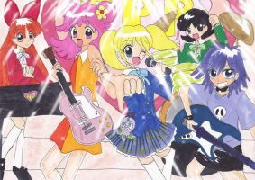 PUFFY AMIYUMI feat.PPG by TurtleHill