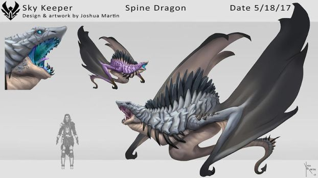 Spine Dragon by joshua-mARTin