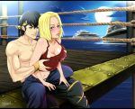 Commission: Ryoga and Blue Mary by R-Legend