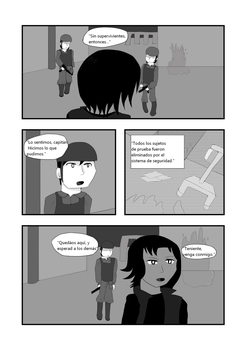 CAP 1- War of Existance Fan comic. P-6 (ESP) by Bluzumara