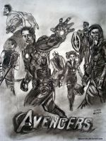 The Avengers by happymint