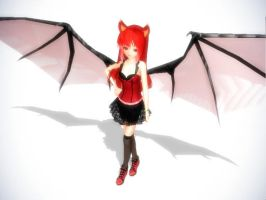 MMD Succubys newcommer Selrine Demon edition by Witchling413