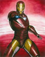 IRON MAN by RobertDamnation