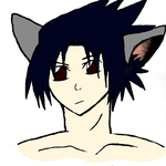 Kitty Sasuke colored by inokana
