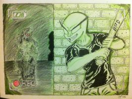 Blunt Force Drama Show Punch-A-Ghost by Infinity-Joe