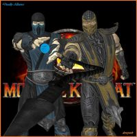 Subzero - Scorpion MK9 by dnxpunk
