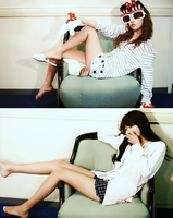SNSD - Taeyeon and Sooyoung by anna06i