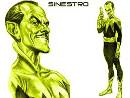 Alex Ross - Sinestro by Superman8193