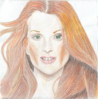 Julianne Moore by AzSapphire