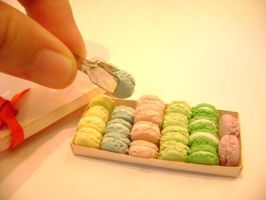 minifood: macarons by lovely301090