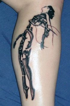 Ghost In The Shell tattoo by Kryoide
