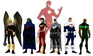 Justice Lords of America P. Bourassa style by Majinlordx