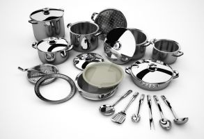 cookwares by nucularman